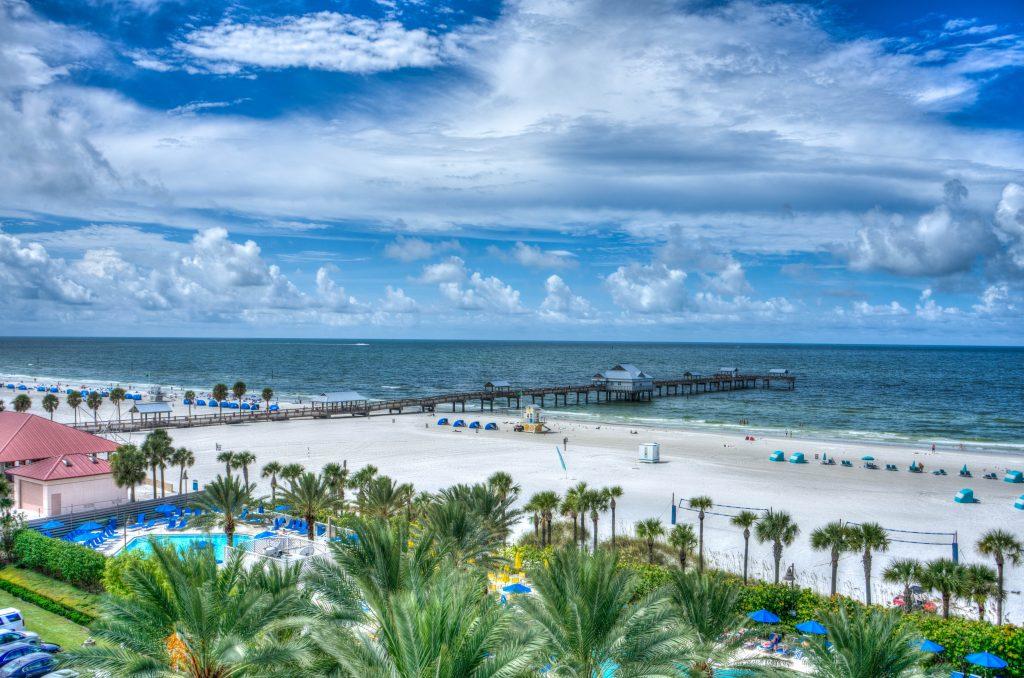 clearwater beach, florida, gulf coast